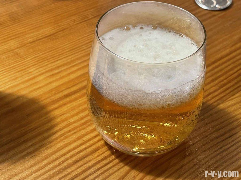 普通にビール